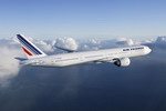 An Air France Boeing 777-300ER in flight. (John M Dibbs)