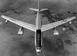 A Boeing RB-47E Stratojet in flight. (USAF)