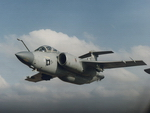 BAC/BAe Buccaneer in flight (RAF)