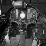 The Draken's cockpit (N G Widh/Saab).