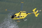 A Eurocopter EC-145 in flight. The EC-145 is essentially a BK-117. (Eurocopter)