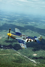A North American P-51 Mustang as seen in the 1980s. (DoD)
