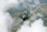 A Supermarine Spitfire in flight. (BAE Systems)