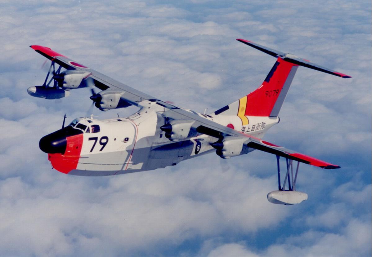 日本海上自卫队的us-1a水上飞机;;;