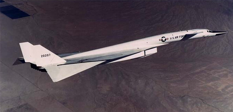 North American XB-70 Valkyrie in flight